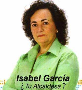 ISABEL GARCÍA: IMPUTADA